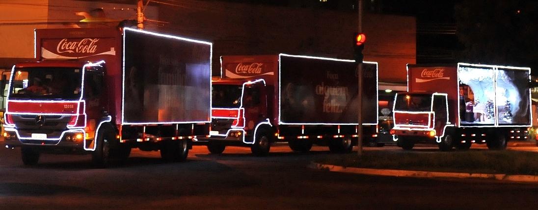 Caravana Iluminada Coca-Cola no Natal Flamboyant4