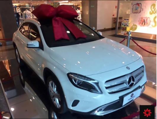 Sorteio Mercedes GLA2