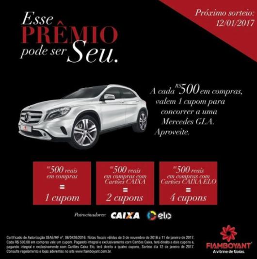 Sorteio Mercedes GLA3