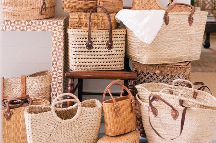 Bolsas de palha: a handbag favorita das francesas está de volta!