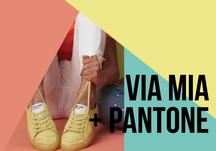 Via Mia + Pantone: A Collab mais colorida do momento