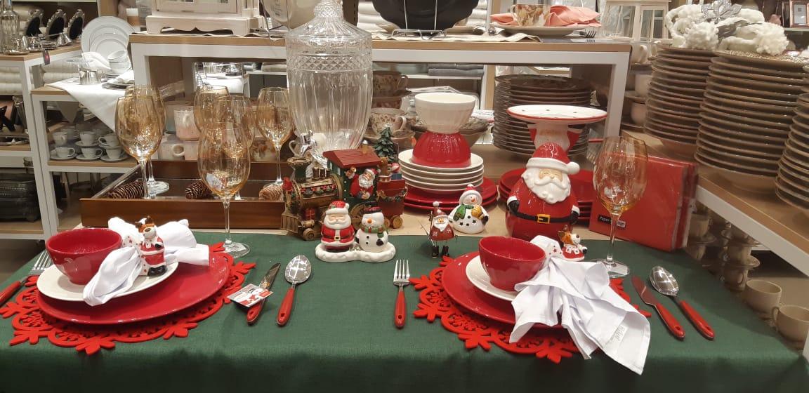 Ponha a mesa para Ceia de Natal e Ano Novo com a Camicado