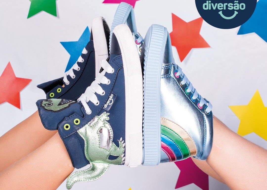Chegou novidade para a criançada na Flávio's Calçados!