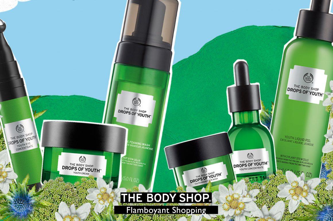 Dê um up na beleza com as Gotas da Juventude da The Body Shop