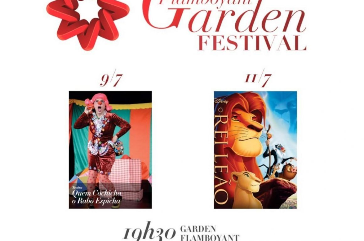Diversão de férias no Flamboyant Garden Festival 2019