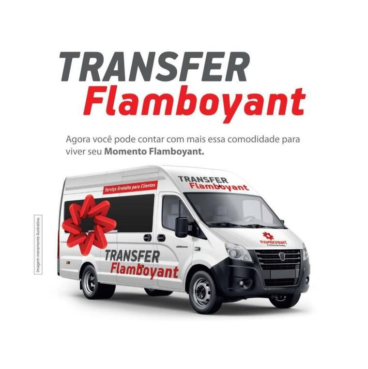 Novidade Flamboyant: Transfer Gratuito para Clientes