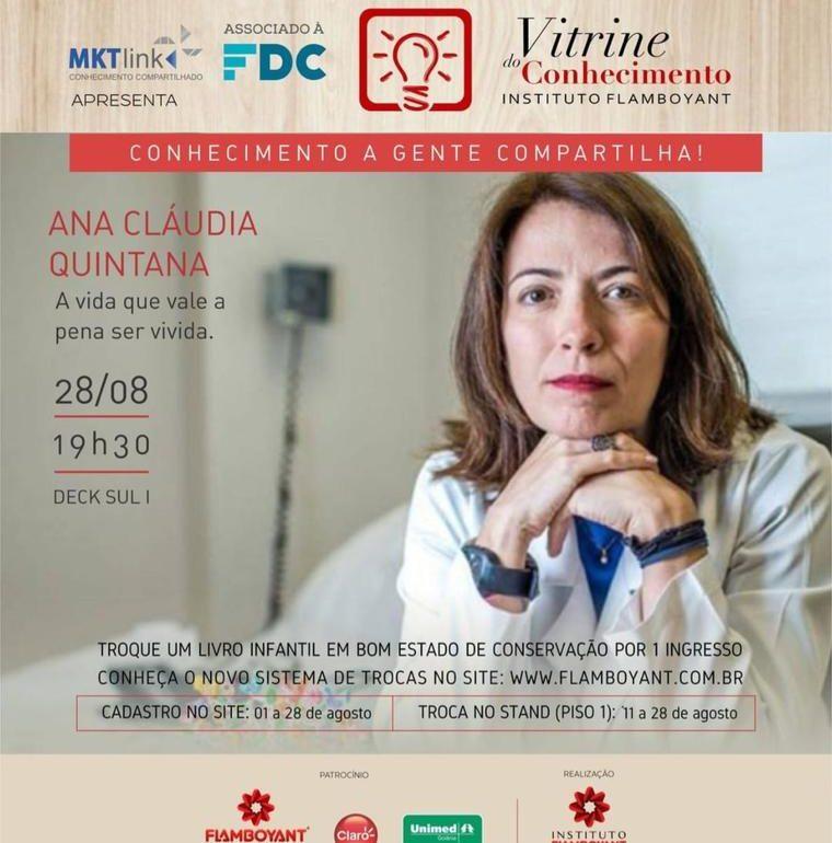 Vitrine do Conhecimento apresenta: Ana Cláudia Quintana