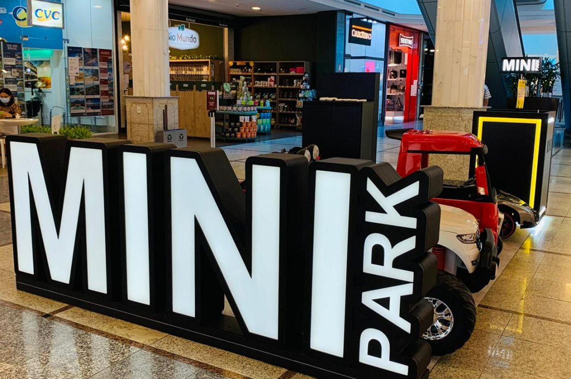 O Mini Park Chegou no Flamboyant Shopping!!
