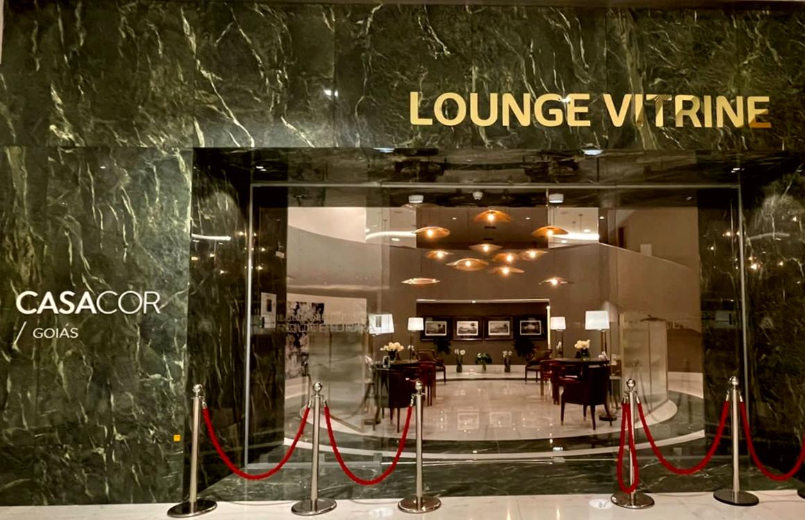 CASACOR Goiás 2021 – Lounge Vitrine