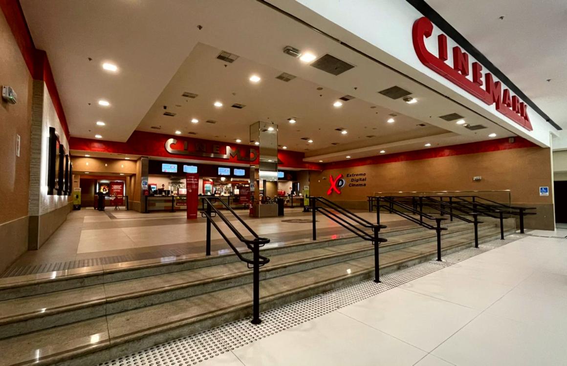 Se divirta  assistindo um filme no Cinemark do Flamboyant Shopping!